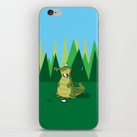 golf iPhone & iPod Skins featuring Golf  by Tony Vazquez