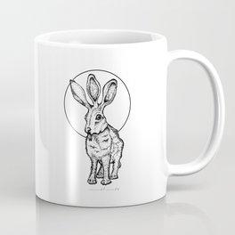 Neither Here Nor Hare Coffee Mug