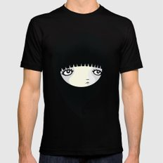 Black Drop MEDIUM Mens Fitted Tee Black