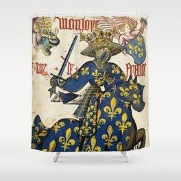 Golden Fleece King of France Shower Curtain