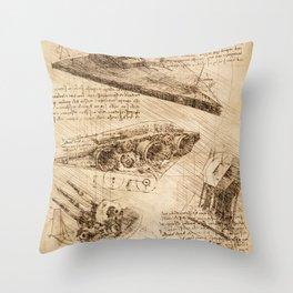 Codex: Star Destroyer Throw Pillow