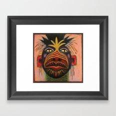 Medicine Mask I Framed Art Print