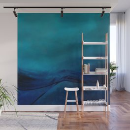 Storm Water #impressionism #abstract #moods #society6 Wall Mural