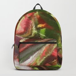 Fall Colors Leaf Abstract Backpack