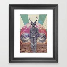 UNIVERSOS PARALELOS 002 Framed Art Print