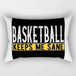 Basketball Lover Gift Idea Design Motif Rectangular Pillow