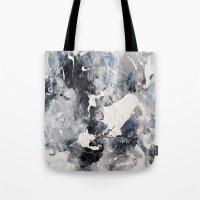 manhattan Tote Bags featuring Manhattan by Solveig Noll
