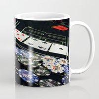 poker Mugs featuring poker by yahtz designs