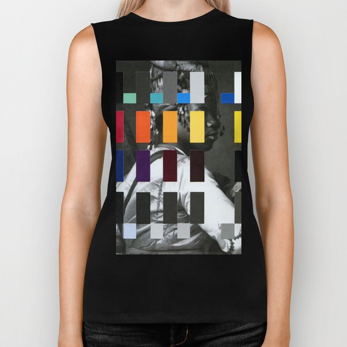Untitled (or, The Historical Burden of Color Theory) Biker Tank