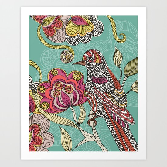 Beatriz Art Print