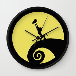 The Nightmare before the Lion King Wall Clock