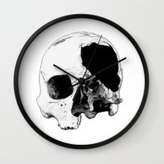 In Thee Dark We Live Wall Clock