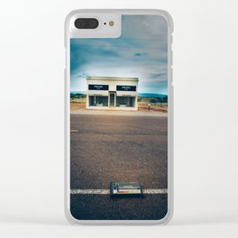 808: Found Objects Clear iPhone Case