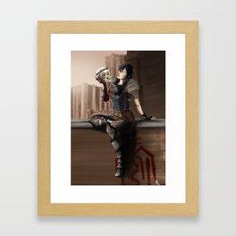 Alas! Framed Art Print