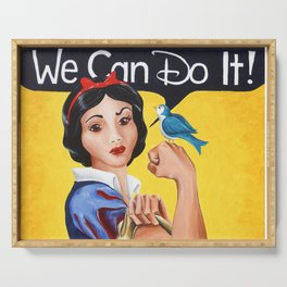 Rosie the Riveter, We Can Do It Serving Tray