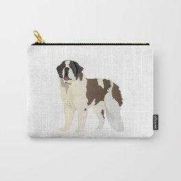 Saint Bernard Dog Carry-All Pouch