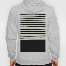Black x Stripes Hoody