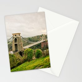 Bristol- Clifton Suspension Bridge Panorama Stationery Cards