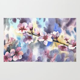 Blossoming almond Rug