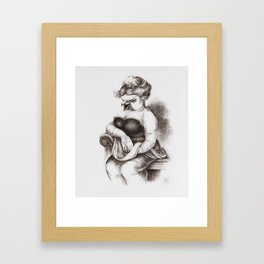 The Opera Singer Framed Art Print