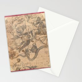 Constellation Chart 1856 Stationery Cards
