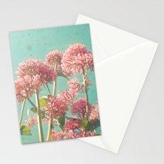 Pink Milkweed Stationery Cards