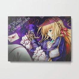 Violet Evergarden AMD Metal Print