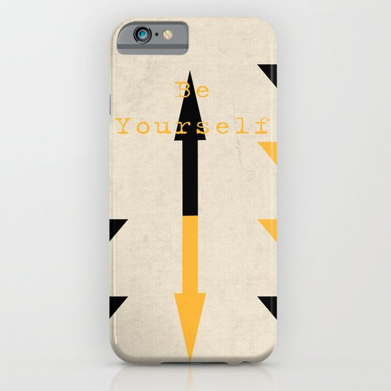 Be Yourself iPhone & iPod Case
