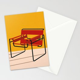 Marcel Breuer Wassily Chair Stationery Cards