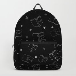 Classic Books Black and White Backpack