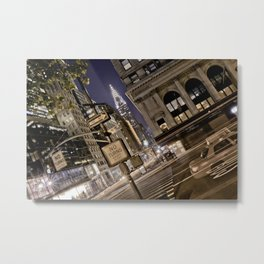 Chrysler Building - New York Artwork / Photography Metal Print