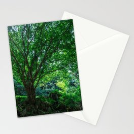 The Greenest Tree Stationery Cards