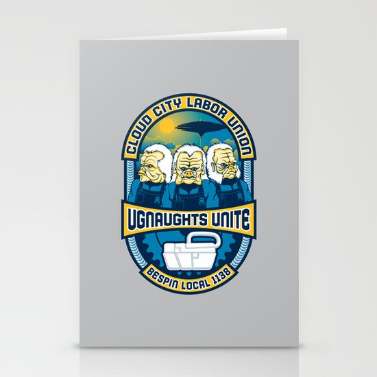 Ugnaughts Unite Stationery Cards