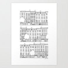 blocks of Brooklyn Art Print