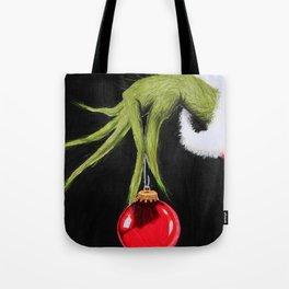 Christmas Grinchmas Tote Bag