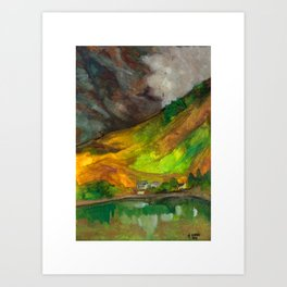 Morvich Highlands, Scotland Art Print