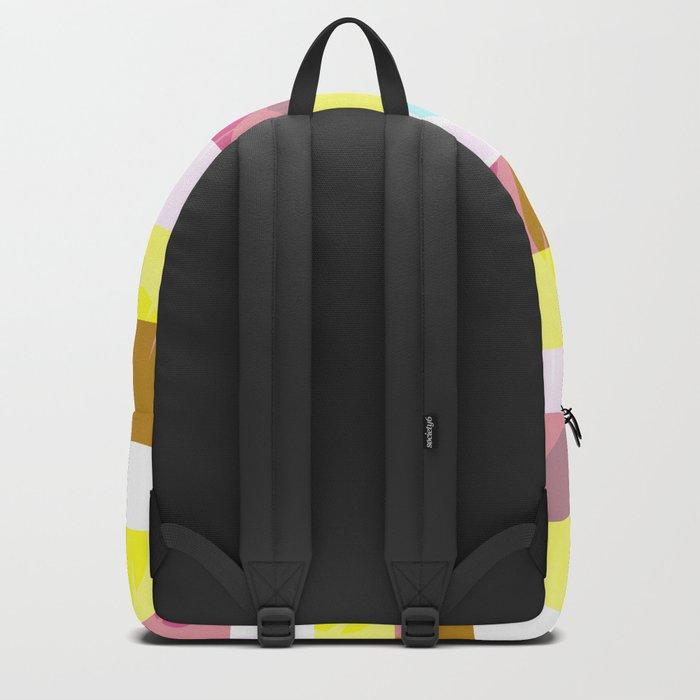 Tropical stripes Backpack