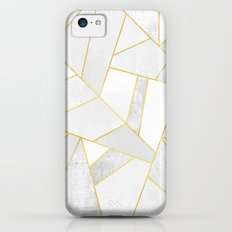White Stone Slim Case iPhone 5c