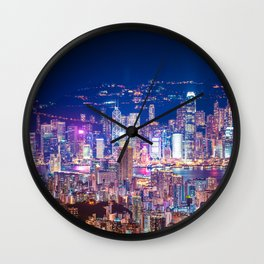 Victoria Night Wall Clock