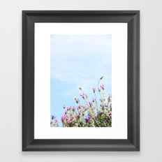 printemps in pink Framed Art Print
