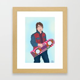 McFly Framed Art Print