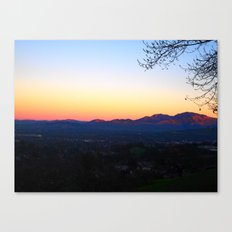 Mt. Diablo Canvas Print