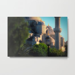 Leica Mosque Metal Print