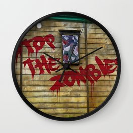 Stop the Zombies!!! Wall Clock