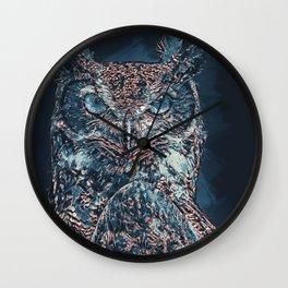 The Night Owl Wall Clock