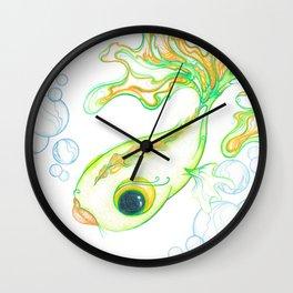 Citrus Fish Wall Clock
