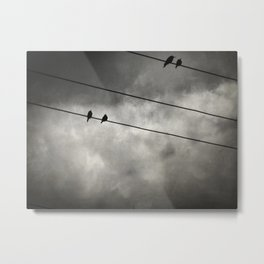 The Trace 11:25 Metal Print