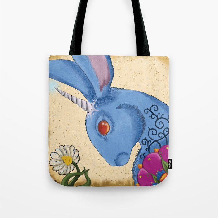 Unicorn Bun Tote Bag