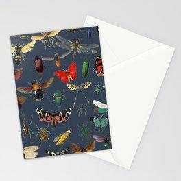 Lovely Butterfly Blue Stationery Cards