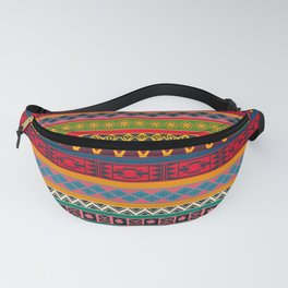 African pattern No4 Fanny Pack